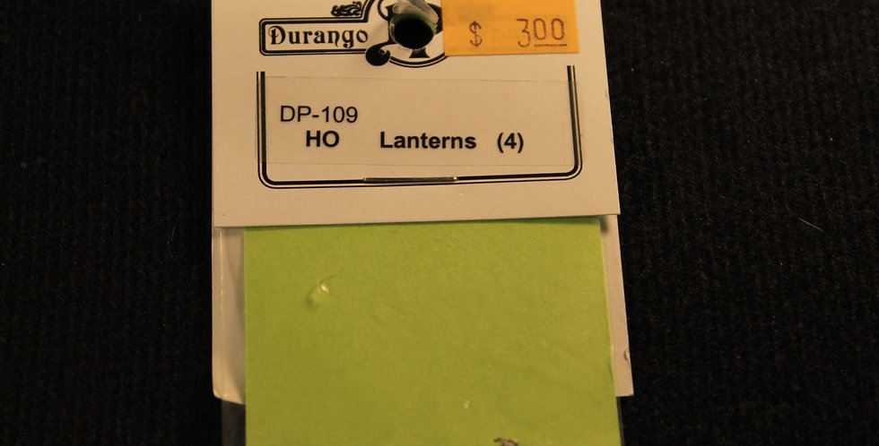 HO Lanterns (4) DP 109