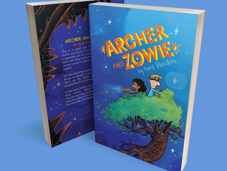 Archer & Zowie: a sic-fi book about friendship