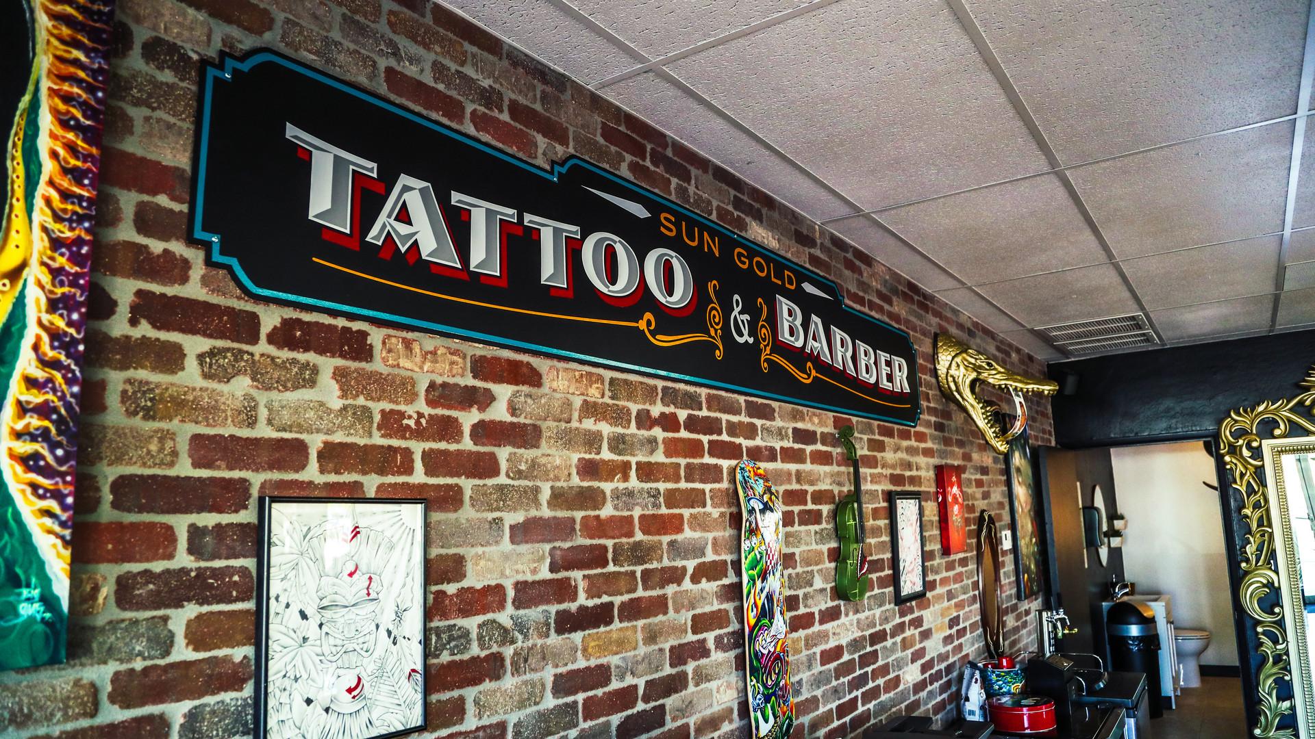 Sun Gold Tattoo & Barber