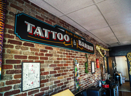 Sun Gold Tattoo & Barber - My Tattoo