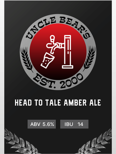 HEAD TO TALE AMBER ALE