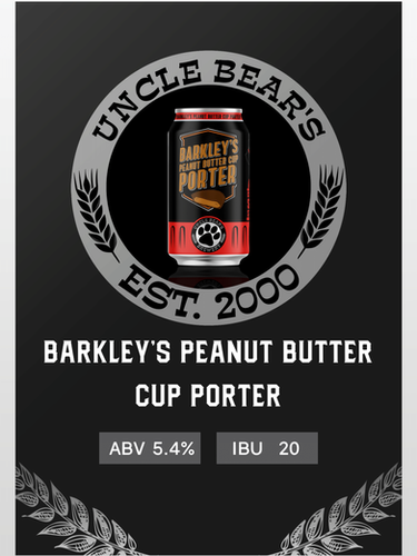 BARKLEY'S PEANUT BUTTER CUP PORTER