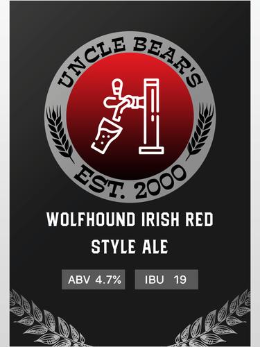 WOLFHOUND IRISH RED STYLE ALE