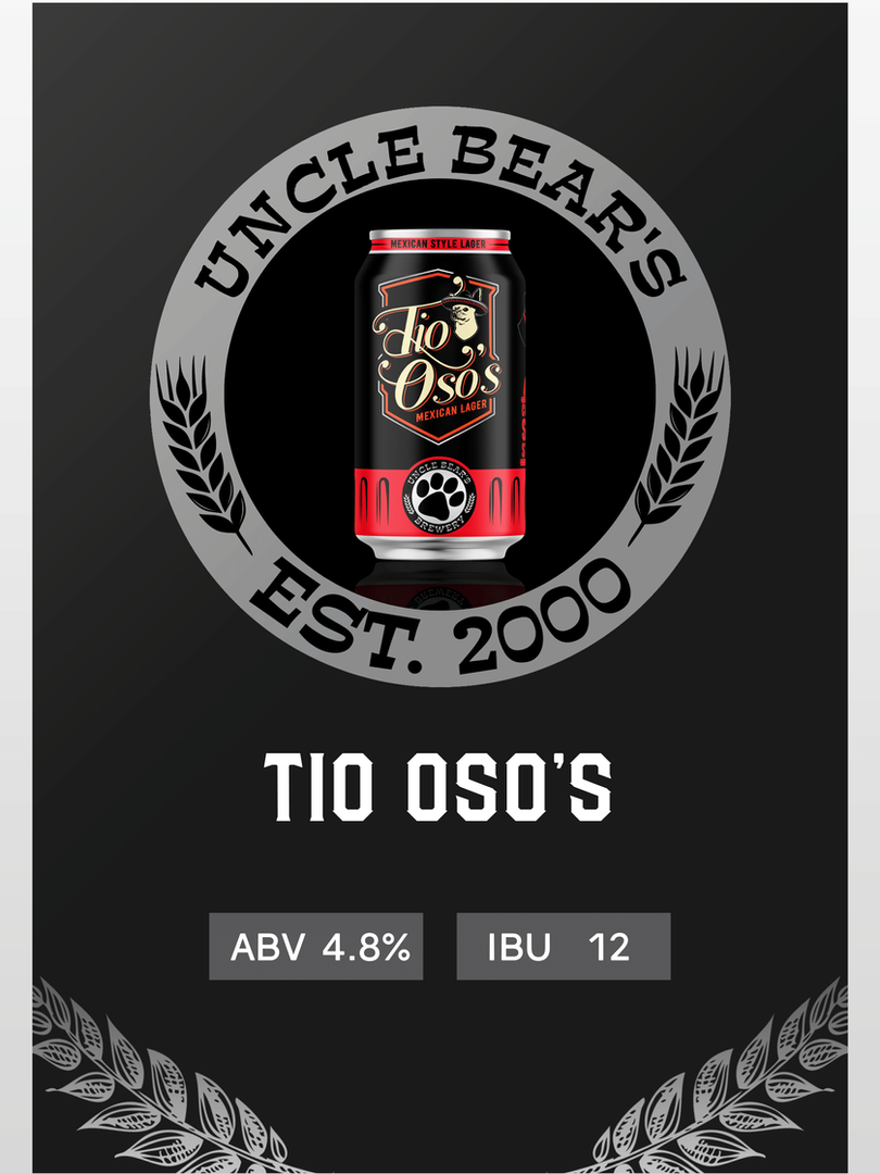 TIO OSO'S MEXICAN STYLE LAGER
