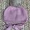 Thumbnail: Gorro de Punto Bobo con Pompón de Pelo