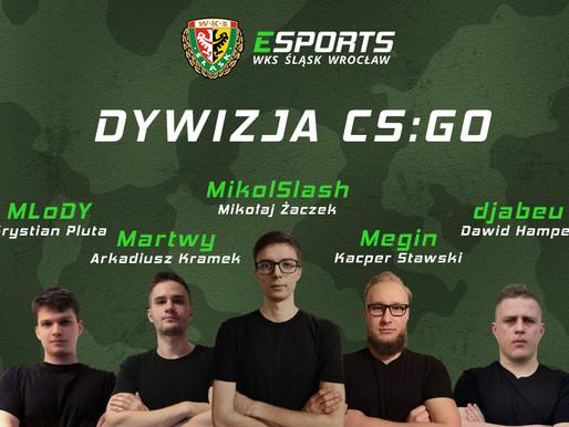 Otworzyliśmy drużynę CS:GO!