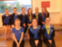 Portsmouth Victoria Synchro Hampshire 13/15 Age Group 2017
