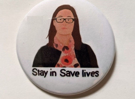 Get your COVID safety buttons!