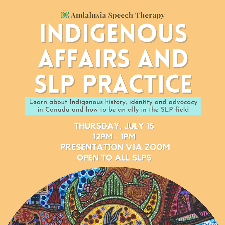 Indigenous Affairs and SLP Practice