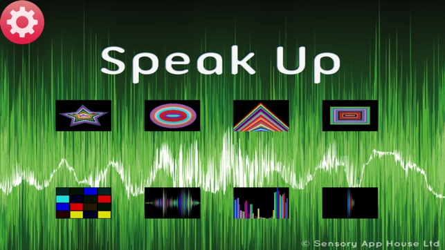 sensory speak up speech therapy app