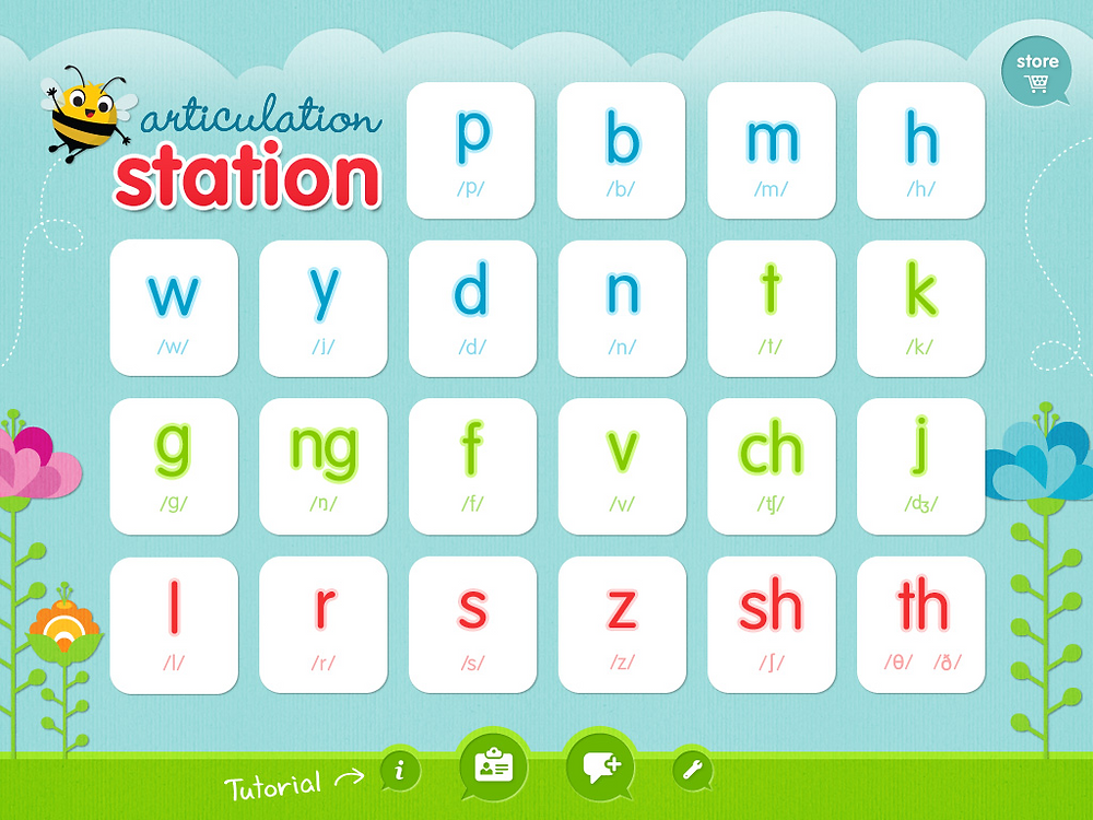 articulation station speech therapy app