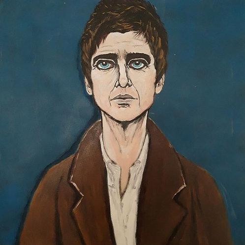 Noel portrait style LS Lowry