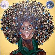 From the Orisha series ..... Mawu Africa