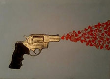 SHOT TO THE HEART ......new artwork ....