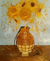 Latest artwork titled ....Bang Gogh ,obv