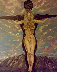 Latest artwork ..... THE CRUCIFIXION OF