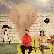 Latest artwork ... THE ELEPHANT IN THE R