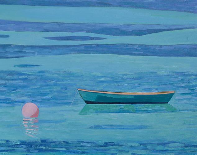 Green Boat - Baileys Bay