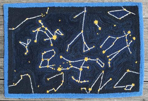 Winter Constellation Rug