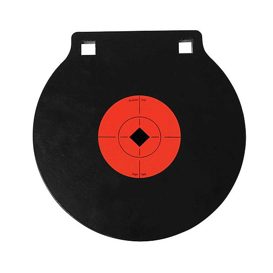 """10"""" AR500 STEEL GONG 3/8"""" THICK"""