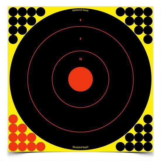 """SHOOT-N-C 17.25"""" TARGETS 5 PACK"""