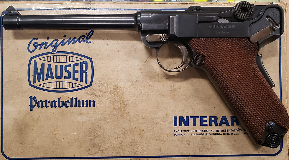 *USED* INTERARMS MAUSER 9MM