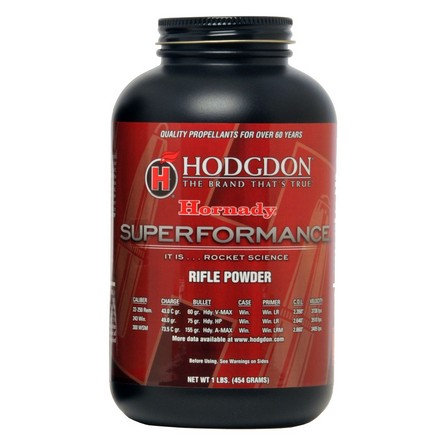 HODGDON SUPERPERFORMANCE RIFLE POWDER 1LB