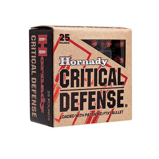 HORNADY CRITICAL DEFENSE 380 AUTO 90 GRAIN FTX