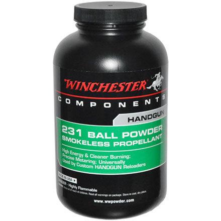 WINCHESTER 231 HANDGUN BALL POWDER 1LB