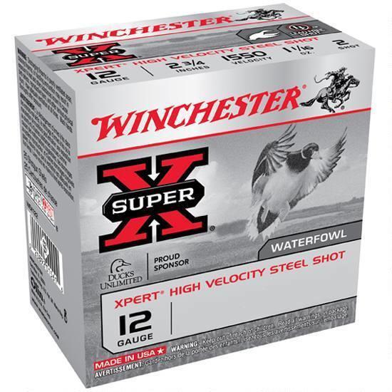 """WINCHESTER SUPER X 12 GA. 2-3/4"""" 1 OZ 7 SHOT"""