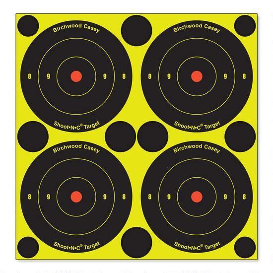 """SHOOT-N-C 3"""" TARGETS 12 PACK"""