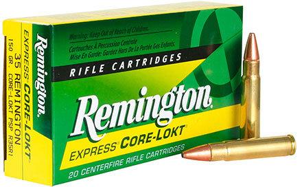 REMINGTON .35 REM 150 GRAIN CORE-LOKT PSP