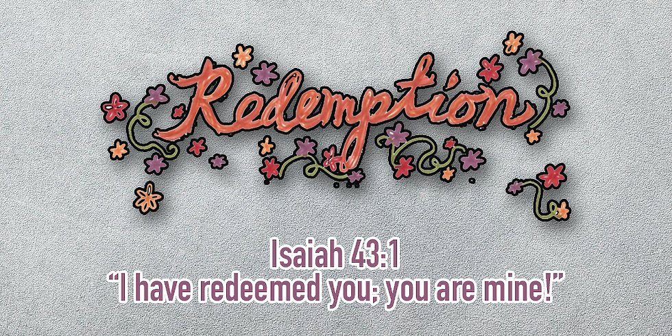 Women's Ministry: Redemption Conference