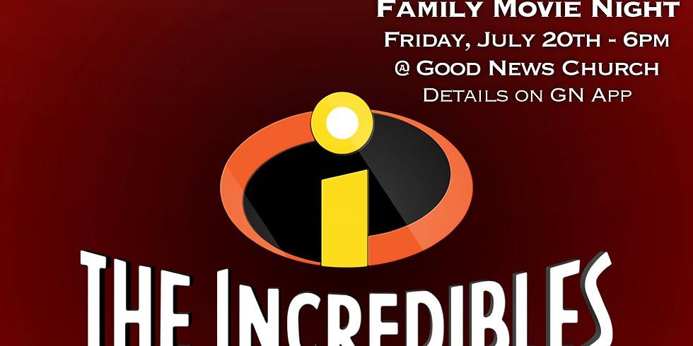 Family Movie Night - 6pm