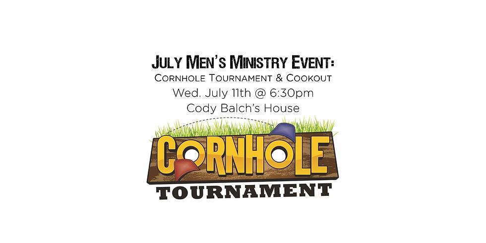Men's Ministry - Cornhole Tournament & Cookout