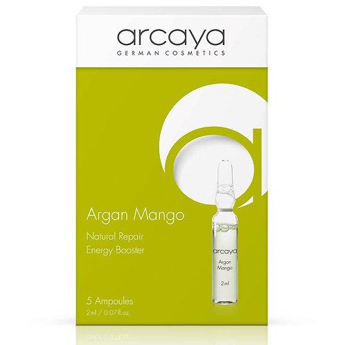 Ampoule Argan Mangue, 5 unités de 2 ml - ARCAYA
