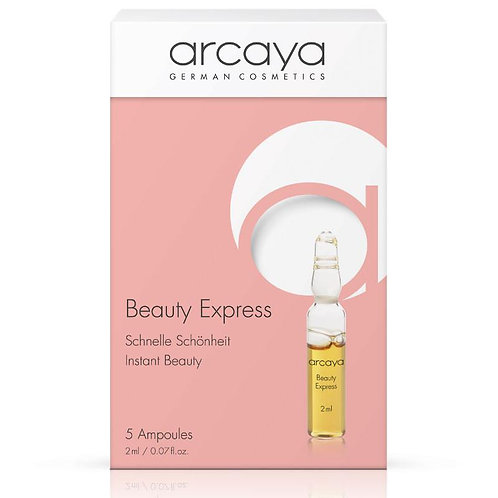 Ampoule Beauté Express, 5 unités de 2 ml - ARCAYA