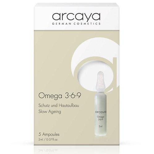 Ampoule Oméga 3-6-9, 5 unités de 2 ml - ARCAYA