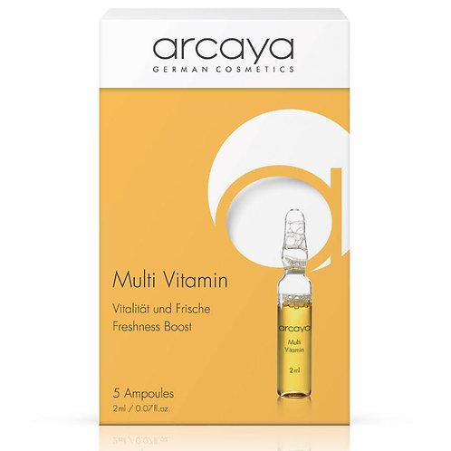 Ampoule MultiVitamines, 5 unités de 2 ml - ARCAYA