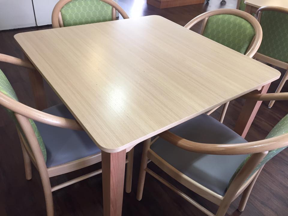 Venus Dining Table and Manuela Chairs 4.