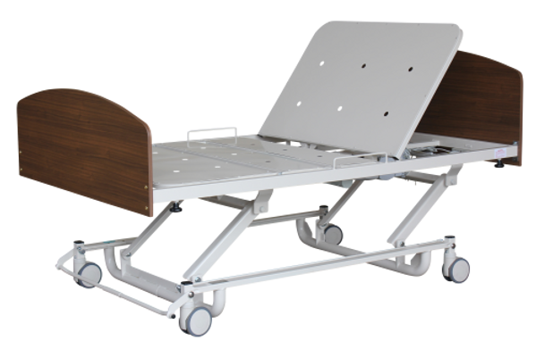 2300KS-Bariatric-Care-Bed-with-Backrest-