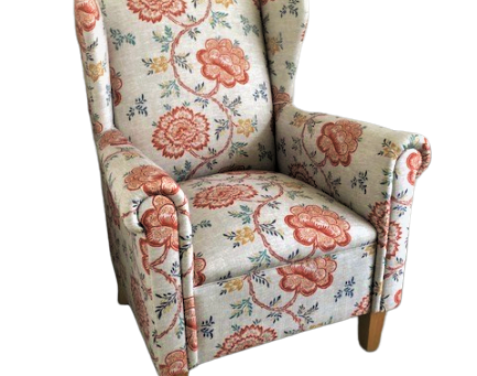 Shania Chair - what a difference fabric makes