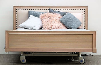 Queen Hi-Lo Bed