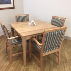 Nova Dining Table and Freemantle Chairs.
