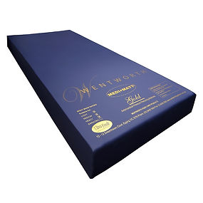 Hi-Lo bed matress, water proof cover, aged care mattress