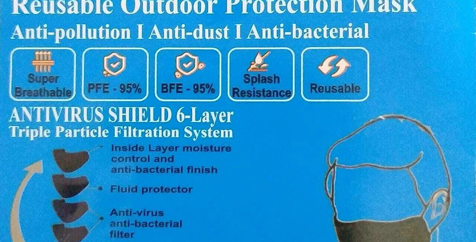 U95 Face Mask - Outdoor Protection