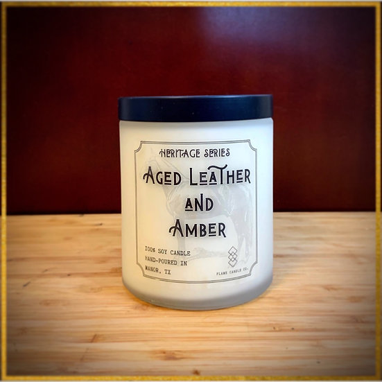 Aged Leather And Amber