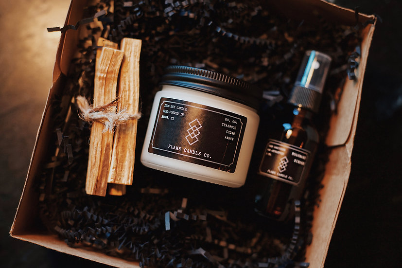 Flame Candle Co. Gift Box