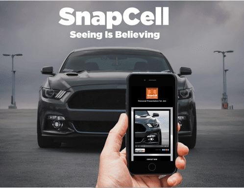 SnapCell - Personal Walk Around Video For Sales & Fixed Ops - Click 4 Website