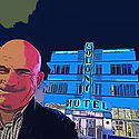 Hugh at Colony Hotel South Beach Miami Florida